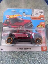 Hot Wheels 2017 # 010/365 2017 Ford F-150 Raptor Bordeaux Hw Hot Camion