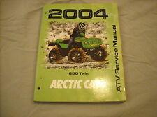 1996 Arctic Cat Service Manual ATV 650 Twin