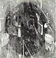 Untitled, 1967 Aquatinta-Radierung Herbert GRUNWALDT (1928-2014 D), handsigniert