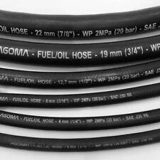 Vacuum Hose - Black Rubber Tubing Tube Water Air Coolant Vacuum Pipe, ALL SIZES
