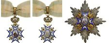 Rare Original ORDER of SAINT SAVA, Grand Officer's Set, 1883