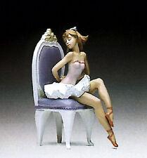 Lladro 5865 Ballerina Dressing For The Ballet *Mint in Box *