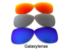 Galaxy Replacement Lenses For Oakley Crosshair S Sunglasses Blue&Titanium&Red