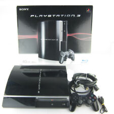 Playstation 3 PS3 Konsole Fat 40 Gb Cechg04 schwarz + Kabel + Controller in OVP
