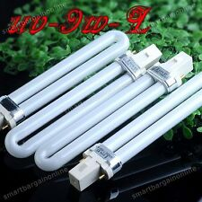 4x Brand New UV-9W-L UV Gel Light Bulb Tube For Nail Art Curing Lamp 365nm Dryer