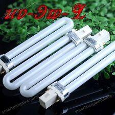 4x Brand New UV-9W-L UV Gel Light Bulb Tube For Nail Art Curing Lamp 365nm Dryer