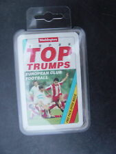 Super Top Trumps   Quartett  - European Football - von 1992 -top