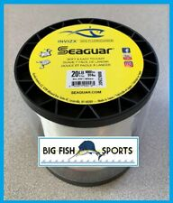 SEAGUAR INVIZX 100% Fluorocarbon Line 20lb/1000yd 20 VZ 1000 FREE USA SHIP!