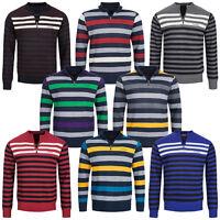 Pierre Cardin Herren Sweatshirt gestreift S M L XL Sweat Sweater Pullover neu