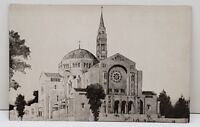 Washington DC The National Shrine Of The Immaculate Conception View Postcard B4