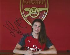 ARSENAL LADIES FOOTBALL* JESSICA SAMUELSSON SIGNED 10x8 PORTRAIT PHOTO+COA