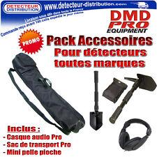 PROMO !!! Pack accessoires Pro - Spécial détection - Pour détecteur de métaux