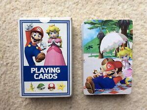 Nintendo Playing Cards Super Mario 2008
