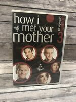 How I Met Your Mother - The Legendary Season Three 3 Disc DVD Set NEW Sealed