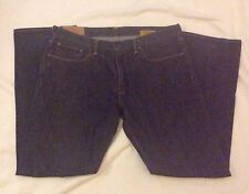 GAP Mens Low Rise Straight Fit Blue Jeans Tag Size 35x32 Actual 36x32