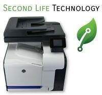 HP LaserJet Pro 500 M570dn Color Duplex Network Printer 22k Page Count CZ271A