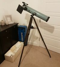 Old Greenkat Astronomical Reflector Telescope Wooden Tripod Sun Projector 1950s?