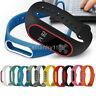 New Silicon Wrist Strap WristBand Bracelet Replacement for XIAOMI MI Band 2 UK