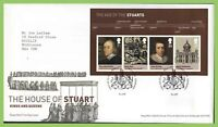 G.B. 2010 House of Stuart M/S Royal Mail First Day Cover, Tallents House