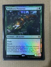 Wildborn Preserver FOIL MTG Throne Of Eldraine RARE Magic The Gathering * NEW *