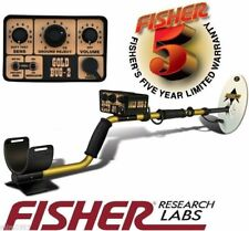 """FISHER GOLD BUG 2 II GOLD PROSPECTING Metal Detector w/ 10"""" Search Coil 5 YR WR"""