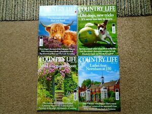 COUNTRY LIFE MAGAZINES X 4 LOT.2019/2020/2021..