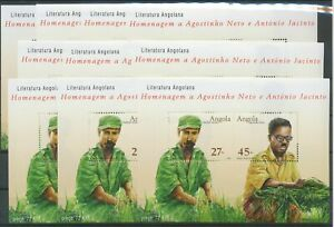 [P889] Angola 2003 Litterature good sheets very fine MNH (10x)