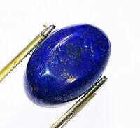 16 Carats 24X15X5 MM Royal Blue Lapis Lazuli Cabochon