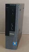 Dell OptiPlex 780 USFF 80GB HD 2GB RAM Intel Celeron 450 2.2GHz Win7 PRO #71