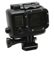 Black Aluminum Waterproof 60m Housing Case Cover For Gopro Hero 4 3+ 3 Camera