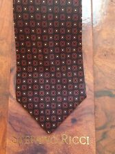 TIE BY STEFANO RICCI USED 100% PURE SILK.