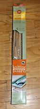 "Kb Authentic 28"" Knitting Board Loom With Peg Extenders Kb6435 Nib"