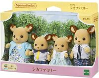 Epoch Sylvanian Families FS-13 Deer Family Dolls Set JAPAN OFFICIAL IMPORT