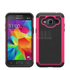 For Samsung Galaxy J3 2016 Shockproof Heavy duty Hybrid Rubber Hard Case Cover