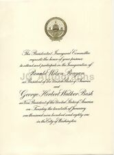 Ronald Reagan - Original Inauguration Invitation