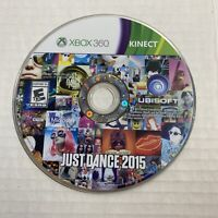 Just Dance 2015 (Microsoft Xbox 360, 2015) Disc only Video Game Free Ship