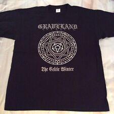 GRAVELAND The Celtic Shirt XL, Azarath, The Chasm, Urgehal, Urfaust,Inquisition