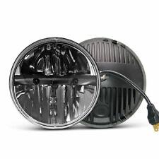 2x 7 Inch 80W Round LED H4 Headlight For 97-17 Jeep Wrangler JK TJ CJ5 CJ7 CJ8