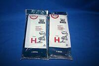 Hoover type H Vacuum Cleaner Bags - 2 Package of 4 - NEW!