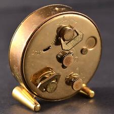 Vintage Marshall Fields 8 Day 15 Jewels Swiss Movement Travel Alarm Clock W/Case