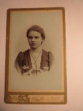 Neudek - Mädchen - junge schöne Frau - Portrait / CDV