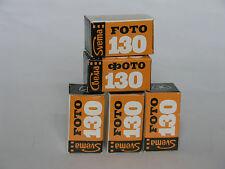 B&W negative 35mm films Foto-130, 5 rolls, Svema, lomography
