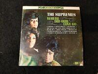 The Supremes Where Did Our Love Go original Vinyl Record LP Motown S-621 EX