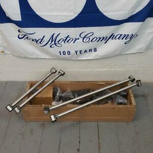 1964-73 Ford Mustang Four 4 Link Kit fits qa1 shocks Coilover GT Shelby chrome