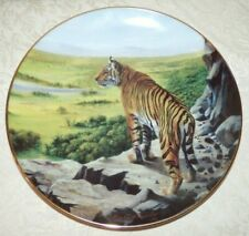 Big Cats Of The World Plate Collection Above The Treetops by Douglas Manning