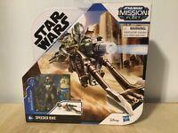 STAR WARS Mission Fleet THE MANDALORIAN & THE CHILD W/ Speeder Bike SEALED