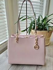Michael Kors Large Sofia Susannah  Chain Tote Leather Signature Bag