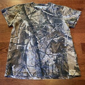 Red Head For Youth Realtree Camo T-Shirt Youth Kid's Size Medium 8