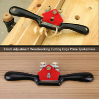 9 Inch Adjustment Woodworking Cutting Edge Plane Spokeshave Hand Trimming Tool z