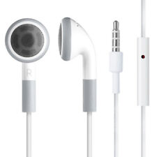 White In-Ear Earphones Headphones with Mic for iPhone 4 5S 5C 6 PLUS iPod iPad